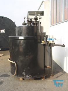 details anzeigen - Chemikalienlagertank mit Auffangbeh�lter, doppelwandig