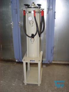 details anzeigen - Elektrolyseanlage bestehend aus 2 Elektrolysezellen ehemals von ROLEX