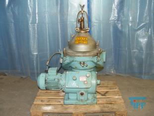 details anzeigen - Zentrifuge / Separator für Ölaufbereitung / Teller-/Lamellen-Separator / Dreiphasenseparator