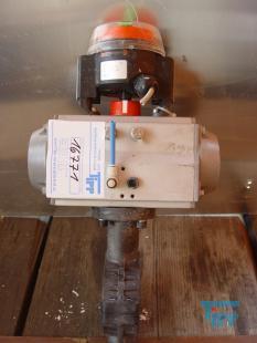 details anzeigen - 2/2-Wege-Zwischenbauklappe mit pneumatischen Kolbenantrieb