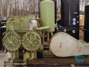 details anzeigen - Kolbenmembranpumpe vierfachwirkend zur Kammerfilterpressenbeschickung