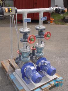 show details - pump station with piping