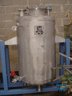 show details - stainless steel pressure vessel