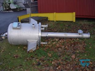 show details - desillation device, stainless steel, pressure tank