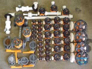 details anzeigen - PVC / PVDF Membranventil / Einbauklappen / R�ckschlagventil /Druckhalteventil / Armaturen f�r Abwasseranlage
