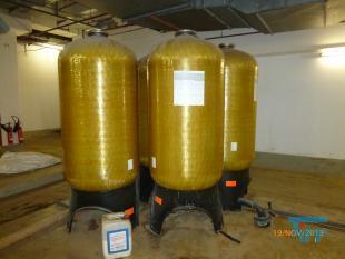 details anzeigen - Structural-Behälter/ GfK- Druckbehälter mit PE-Inliner / Gfk-Behälter / Ionentauscher / Adsorber / Kiesfilter