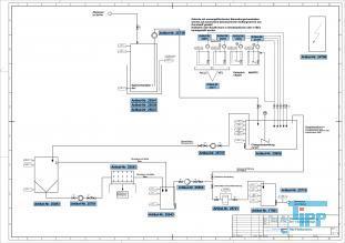 details anzeigen - Gebrauchte Chargenbehandlungsanlage 5m³, gebrauchte Abwasseranlage zur Behandlung von Beizereiabwasser oder anderer schwermetallhaltiger Abwässer