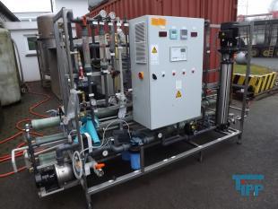 details anzeigen - Vollautomatische Umkehrosmoseanlage mit Elektrodeionisation EDI, Membranfiltrationsanlage zur Reinstwasserherstellung