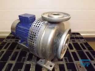 details anzeigen - Kreiselpumpe ; Edelstahlkreiselpumpe mit geschlossenem Pumpenrad