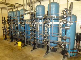 details anzeigen - Ionentauscherkreislaufanlagen, sauer/alkalisch und cyanidisch mit gemeinsamer Steuerung