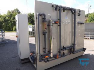 details anzeigen - Ultrafiltrationsanlage f�r die Partikelfiltration, Membrananlage mit INGE-Ultrafiltrationsmodulen, Filtrationsanlage, Ultrafiltration mit Offenkanalmodulen