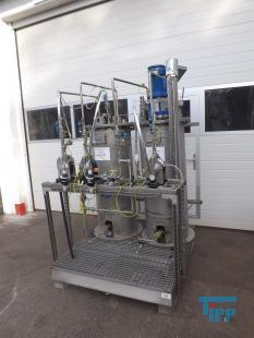 show details - dosing plant, solvent preparation station ex-zone