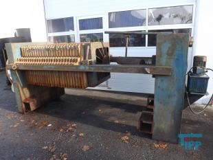 details anzeigen - 800er- Kammerfilterpresse in Kurzbauweise