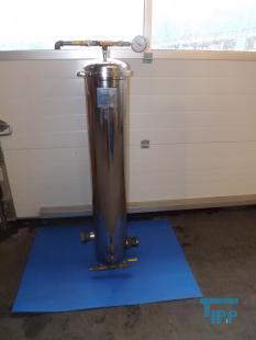 details anzeigen - elektropoliertes Filtergeh�use, Kerzenfiltergeh�use, Edelstahlkerzenfilter