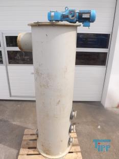 details anzeigen - Polymer-R�hrbeh�lter Schneckenr�hrer mit Getrieber�hrwerk