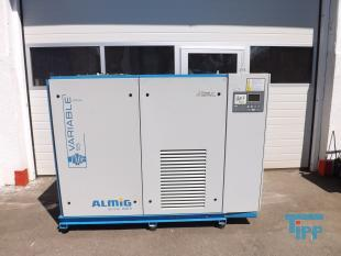 details anzeigen - drehzahlgeregelter Druckluftkompressor, �lgeschmierter Schraubenkompressor, Schraubenverdichter