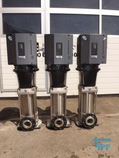 details anzeigen - Mehrstufige Edelstahl Kreiselpumpen, Hochdruckpumpe mit Frequenzumrichter, Vertikale Kreiselpumpe
