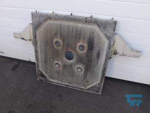 details anzeigen - Filterplatten für Kammerfilterpresse / geschlossener Filtratablauf