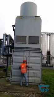 details anzeigen - Zweikreis-K�hlturmanlage mit Bediencontainer