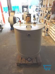 details anzeigen - Behälter mit Kreiselpumpe/Pumpstation/Umwälzbehälter mit Sumpfpumpe