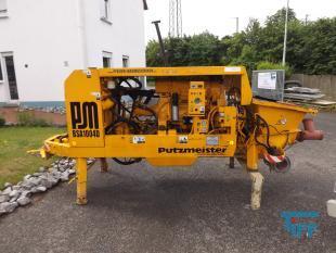 details anzeigen - Putzmeister/ Betonpumpe mit DEUTZ-Dieselmotor/ mobil oder station�r / hydraulische Kolbenpumpe