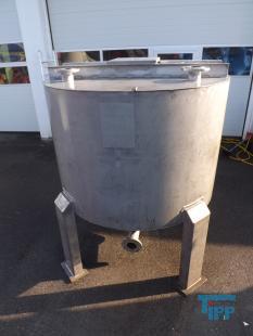 details anzeigen - Zyklonbehälter/Edelstahlbehälter/Rührwerksbehälter/Behandlungsbehälter