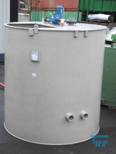 details anzeigen - Rundbehälter / Behandlungsbehälter / Rührwerksbehälter / Speicherbehälter