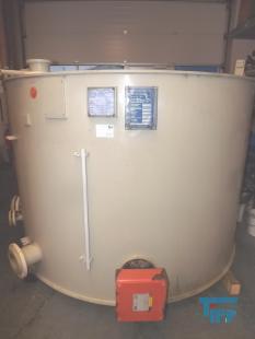 details anzeigen - Beheizbarer Kunststoffbehälter / Behandlungsbehälter