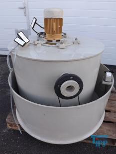 details anzeigen - Behandlungsbehälter / Pumpstation / Rundbehälter Speicherbehälter