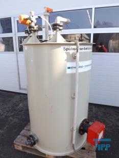 details anzeigen - Beheizbarer Kunststoffbehälter / Behandlungsbehälter / Behälter zum Erwärmen von Chemikalien zur Membranreinigung