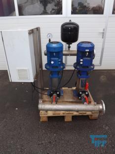 details anzeigen - Druckerhöhungsanlage, automatische Pumpstation mit Steuerung