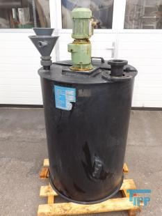 show details - tank with mixer and two pumps