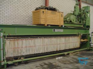 details anzeigen - Brückenholm Kammerfilterpresse mit ABEL Pumpe, verladefertig, SONDERPREIS EURO 15.300,-netto, exw.
