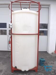 details anzeigen - Rührwerksbehälter / Rundbehälter / Behandlungsbehälter / Speicherbehälter / Lagertank
