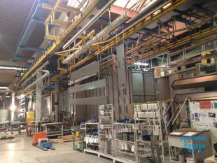 details anzeigen - Pulverbeschichtungsanlage mit Vorbehandlung und Abwasseraufbereitung