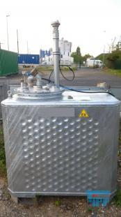 show details - Multitank/Lagertank/Lagerbehälter/Behälter/Doppelwandbehälter zur Aufnahme von AI Stoffen inkl. EMSR Technik.