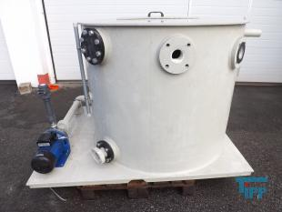 details anzeigen - Pumpstation / Vorlagebehälter / Behandlungsbehälter