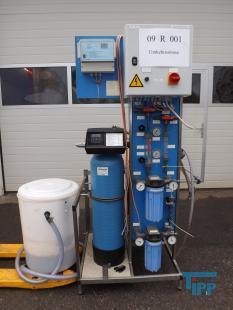 details anzeigen - Umkehrosmoseanlage, Membranfiltrationsanlage zur Reinstwasserherstellung