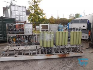 show details - high pressure reverse osmosis flat membranes with cip-station