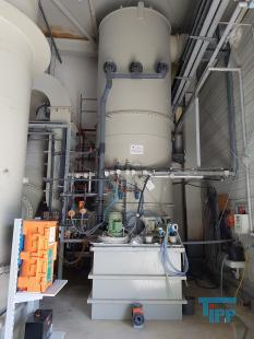 details anzeigen - Gäswäscher, Füllkörperwäscher mit Ventilator und Abgaskamin