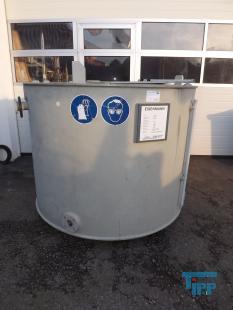 details anzeigen - Vorlagebehälter / Rundbehälter / Behandlungsbehälter / Speicherbehälter / Lagertank