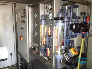 """details anzeigen - Hochdruck-UO im 20\"""" Container/ Umkehrosmoseanlage z.B. zur Behandlung von Deponiesickerwasser (max. 65 bar)"""