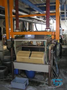 details anzeigen - Trommelautomat, Trommel-Galvanik Kupfer, Nickel, Messing