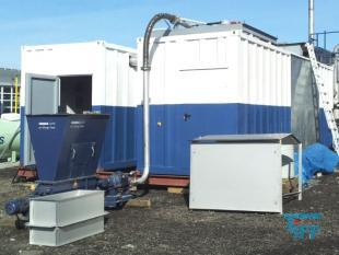 show details - SÜLZLE KLEIN belt dryer for sluges of municipal waste water plants