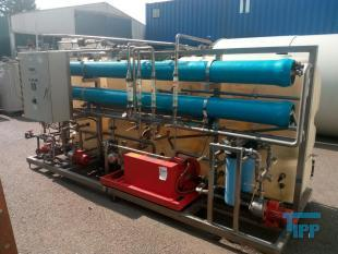 show details - high pressure reverse osmosis plant built on a frame