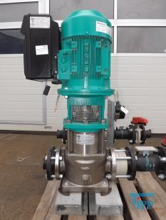show details - WILO centrifugal pump with frequency control