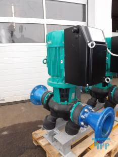 show details - WILO in line centrifugel pump with integrated frequency controler