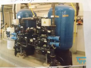 show details - 	feedwater softening plant with pipe installation