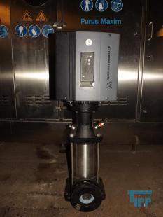 show details - GRUNDFOS multi stage pump with frequency control