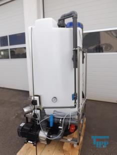 show details - HERCO rinsing system for reverse osmosis plants with pump and heating system